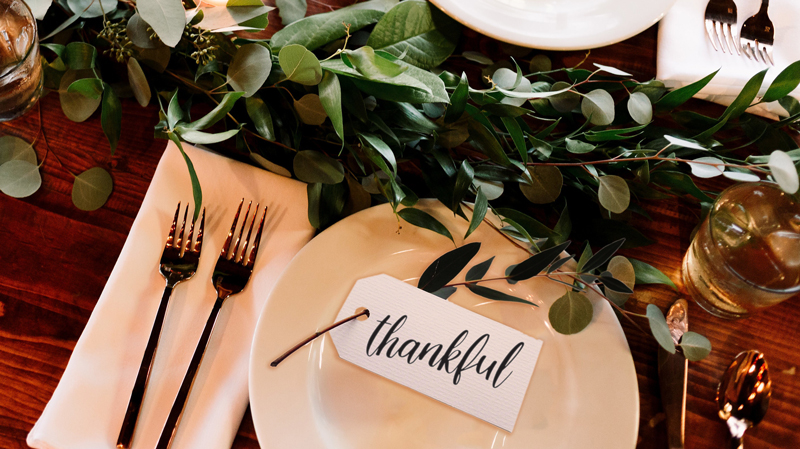 Read more about this featured post, Thanksgiving beyond turkey and the trimmings